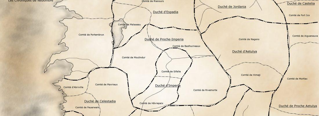Carte des duchés
